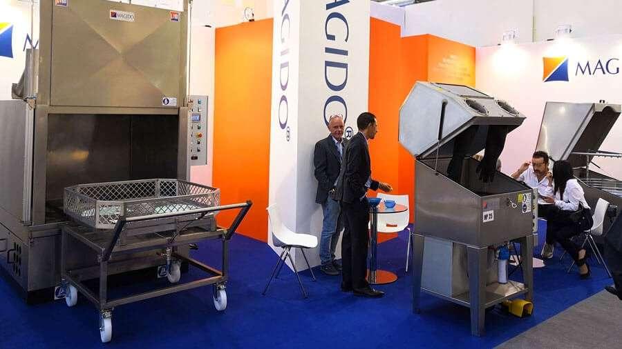 The Magido stand at the last Automechanika exhibition in Frankfurt