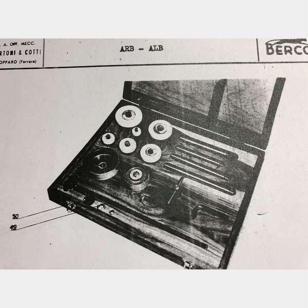MU768 - BERCO ARB Rettifica Bielle
