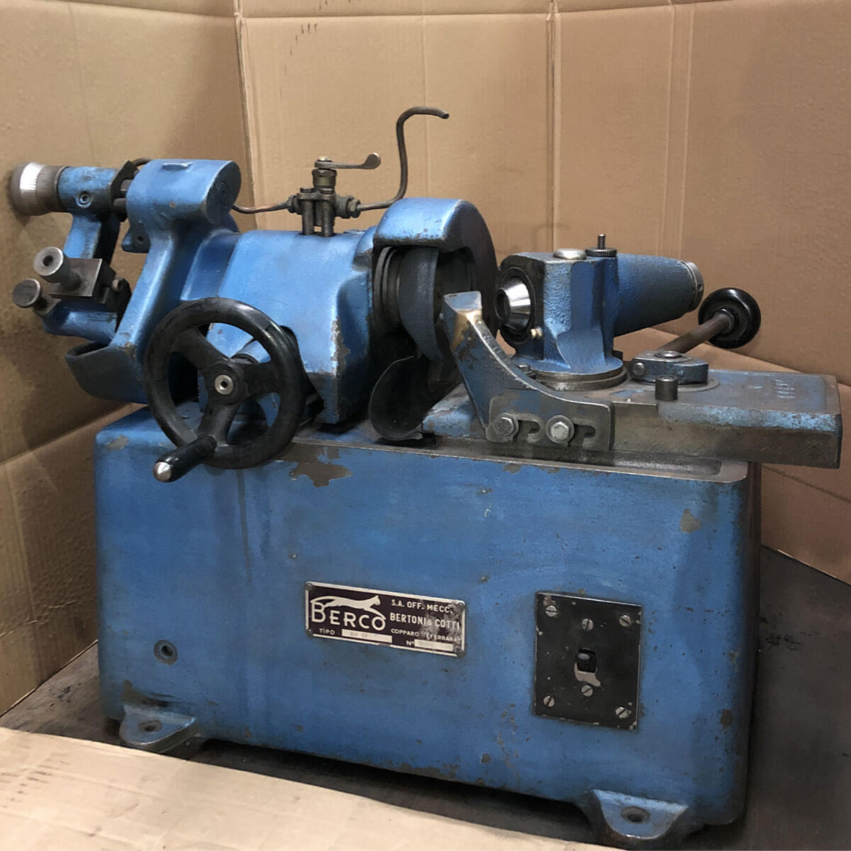 MU776 - BERCO RV 17 Used Valve Grinding Machine