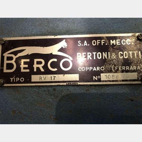 MU776 - BERCO RV 17 Used Valve Grinding Machine