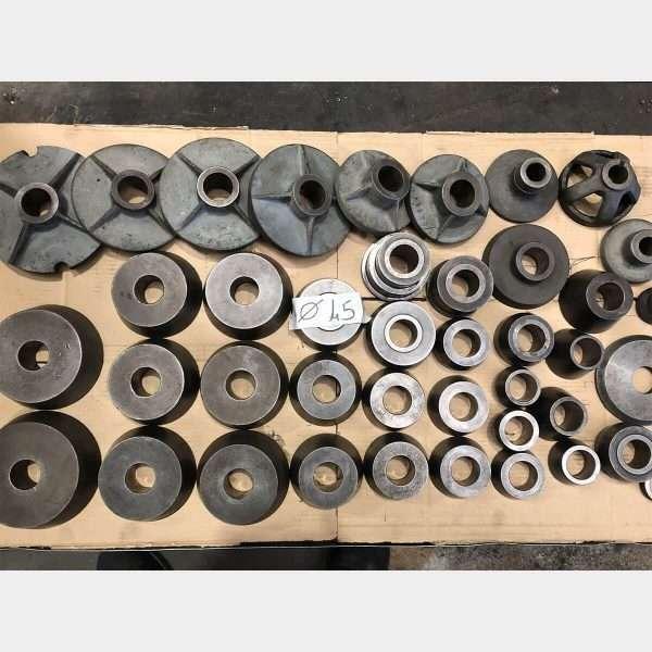 MU798 - BERCO MTD2000 Torno De Tambores Y Discos De Frenos Usado