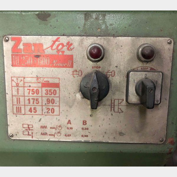 MU784 - ZANROSSO TU 250x600 Minor 2 tornio parallelo