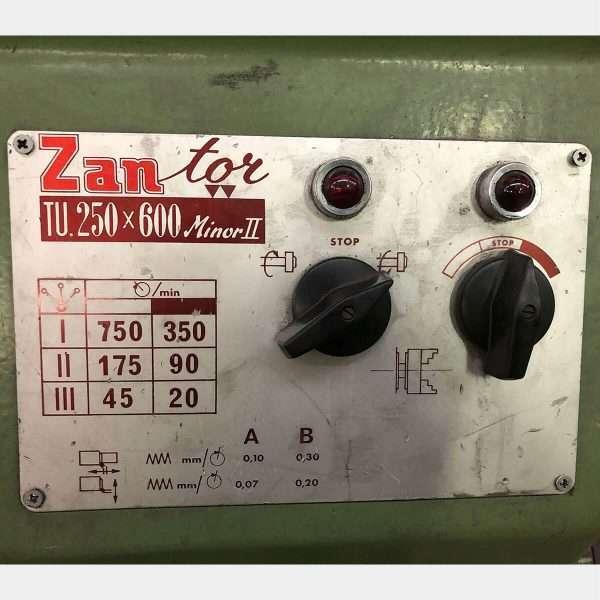 MU785 - ZANROSSO Zan-Tor TU 250x600 Minor 2 Tornio Parallelo