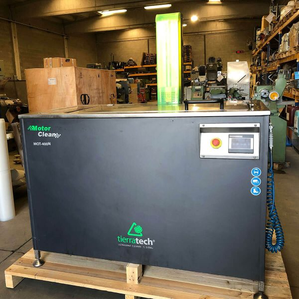 MU786 - TIERRATECH MOT400N Lavadora Por Ultrasonidos Usada