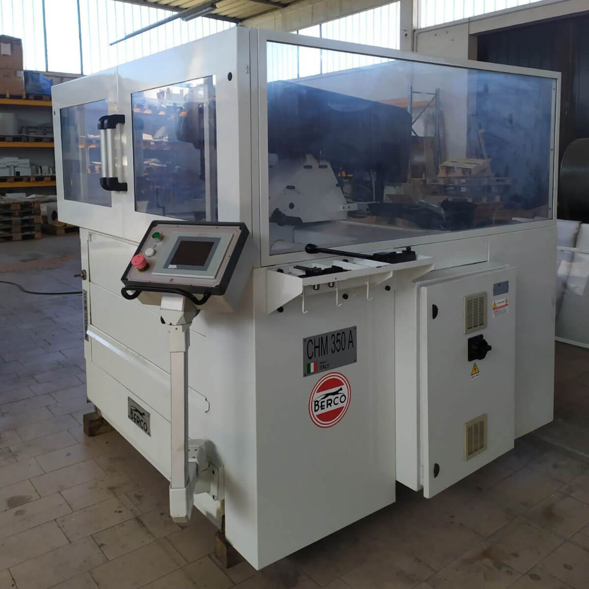 MU804 - BERCO CHM350 Used Cylinder Honing Machine