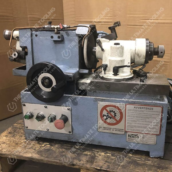 The Ultimate Tooling - MU825 - BERCO RV20 PP Valve Grinding Machine