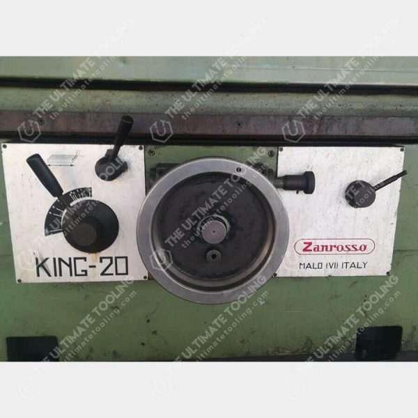 The Ultimate Tooling - MU673 - ZANROSSO KING 20 Rectificadora De Culatas Usada