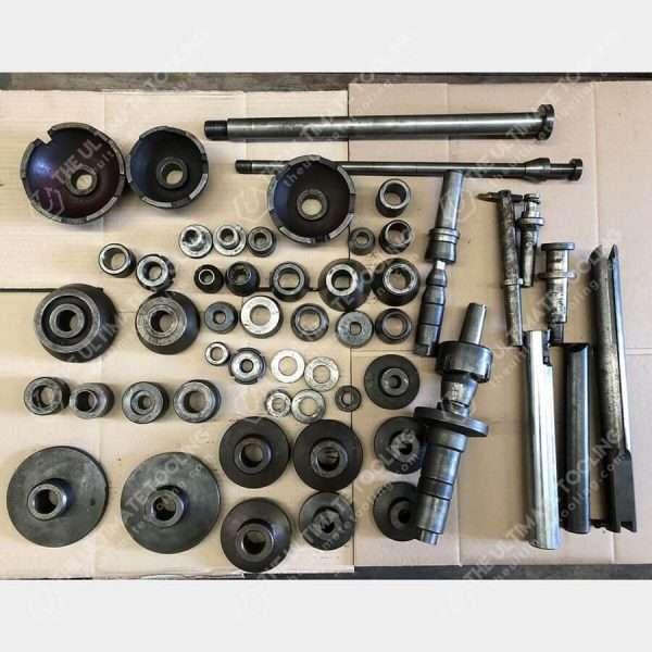 The Ultimate Tooling - MU814 - CAORLE TT Used Brake Drum Lathe