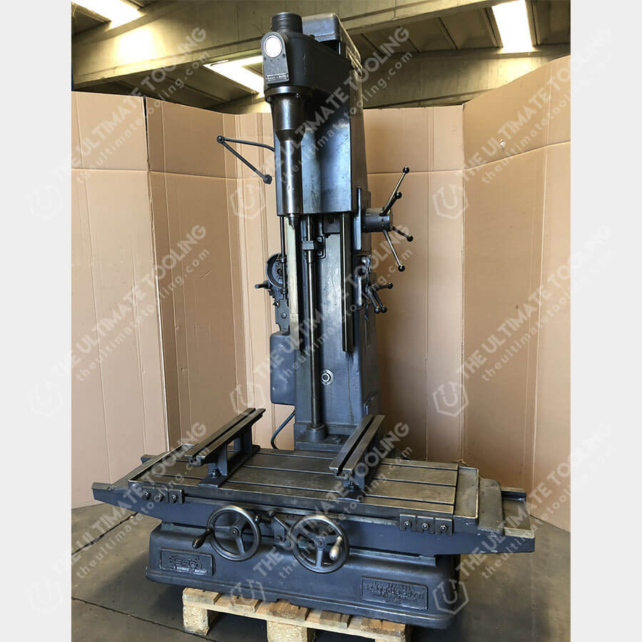 The Ultimate Tooling - MU833 - BERCO AC500 Cylinder Boring Machine