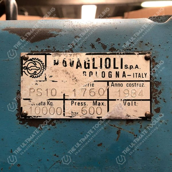 MU839 - Ravaglioli PS 10 Pressa